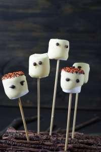 Receita de Halloween: Fantasminhas de Marshmallow