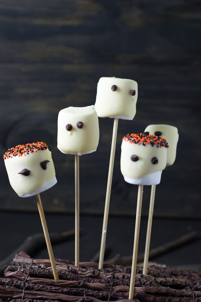 Receita de Halloween: Fantasminhas de Marshmallow | Inglês Gourmet