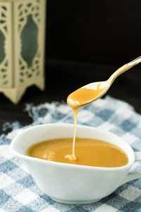 Receita de Calda de Caramelo de Micro-ondas {Caramel Sauce}