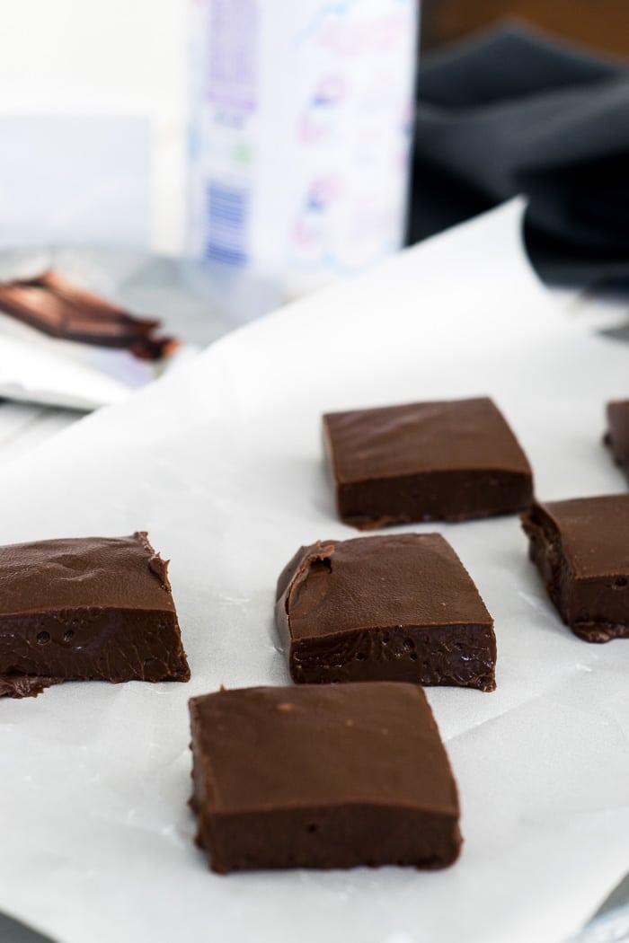 Receita Fácil de Fudge de Chocolate | Inglês Gourmet