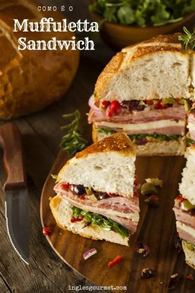 Como é o Muffuletta Sandwich | Inglês Gourmet