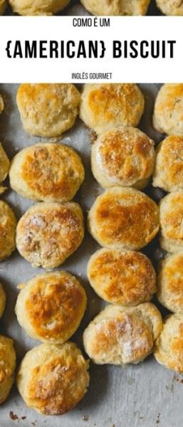 Como é um {American} Biscuit | Inglês Gourmet