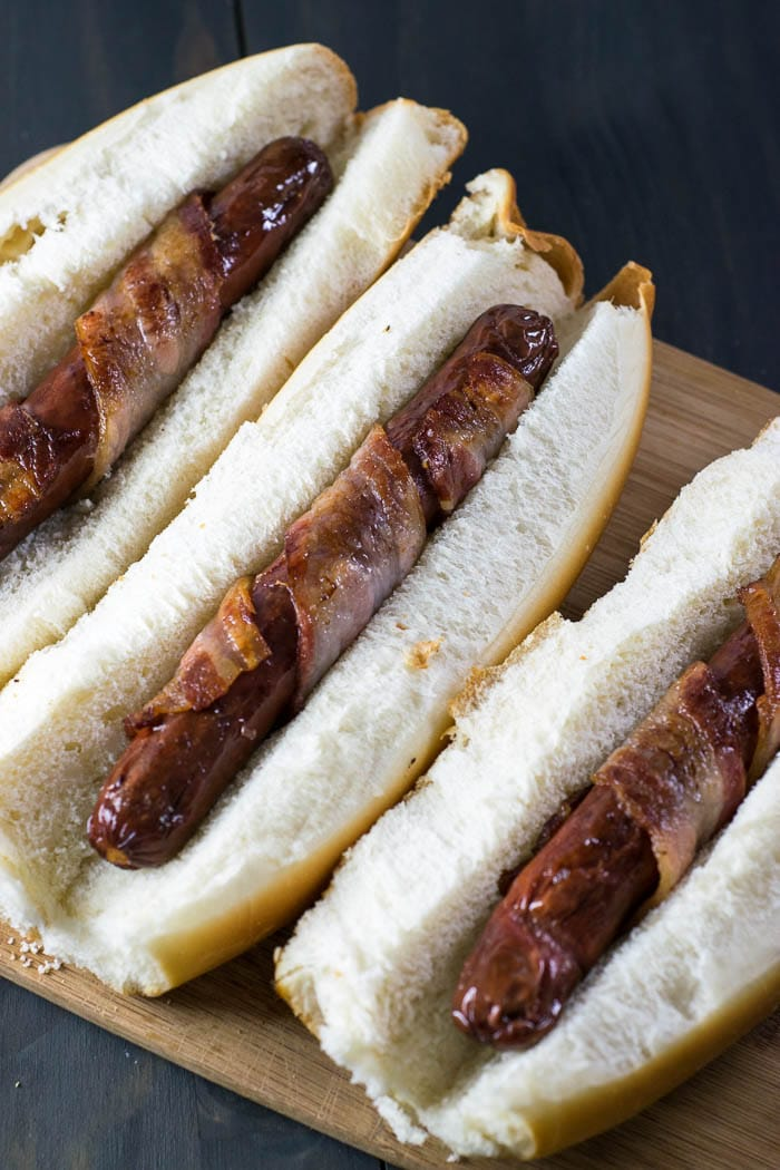 Bacon-Wrapped Hot Dog | Inglês Gourmet