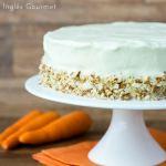 Receita de Carrot Cake {Bolo de Cenoura Americano}