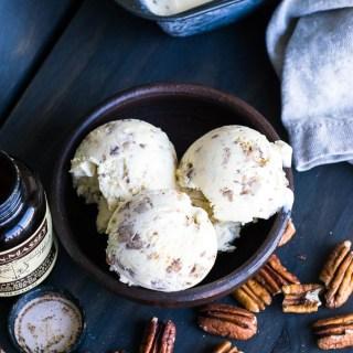 Receita de Butter Pecan Ice Cream | Inglês Gourmet