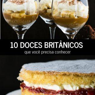 10 Doces Britânicos que você precisa conhecer | Inglês Gourmet