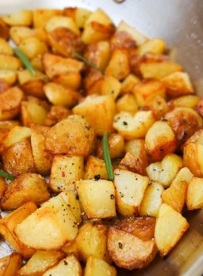 Breakfast Potatoes   Inglês Gourmet