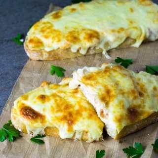 Sanduíche Quente de Salmão (Salmon Melt) | Inglês Gourmet