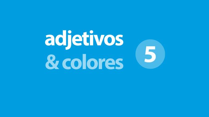 los colores en inglés escribir
