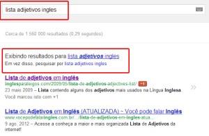 pesquisa lista de adjetivos em ingles
