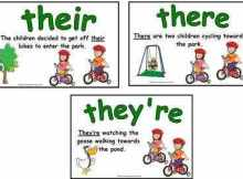 their there e they're