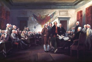 Declaração da Independência dos Estados Unidos - 4 de julho de 1776