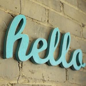 modos de dizer hello em ingles