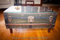 Steamer trunk coffee table | Inglewood Craftsman Home