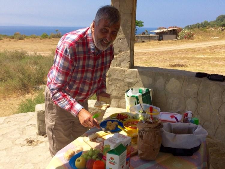 picnic at la Peña
