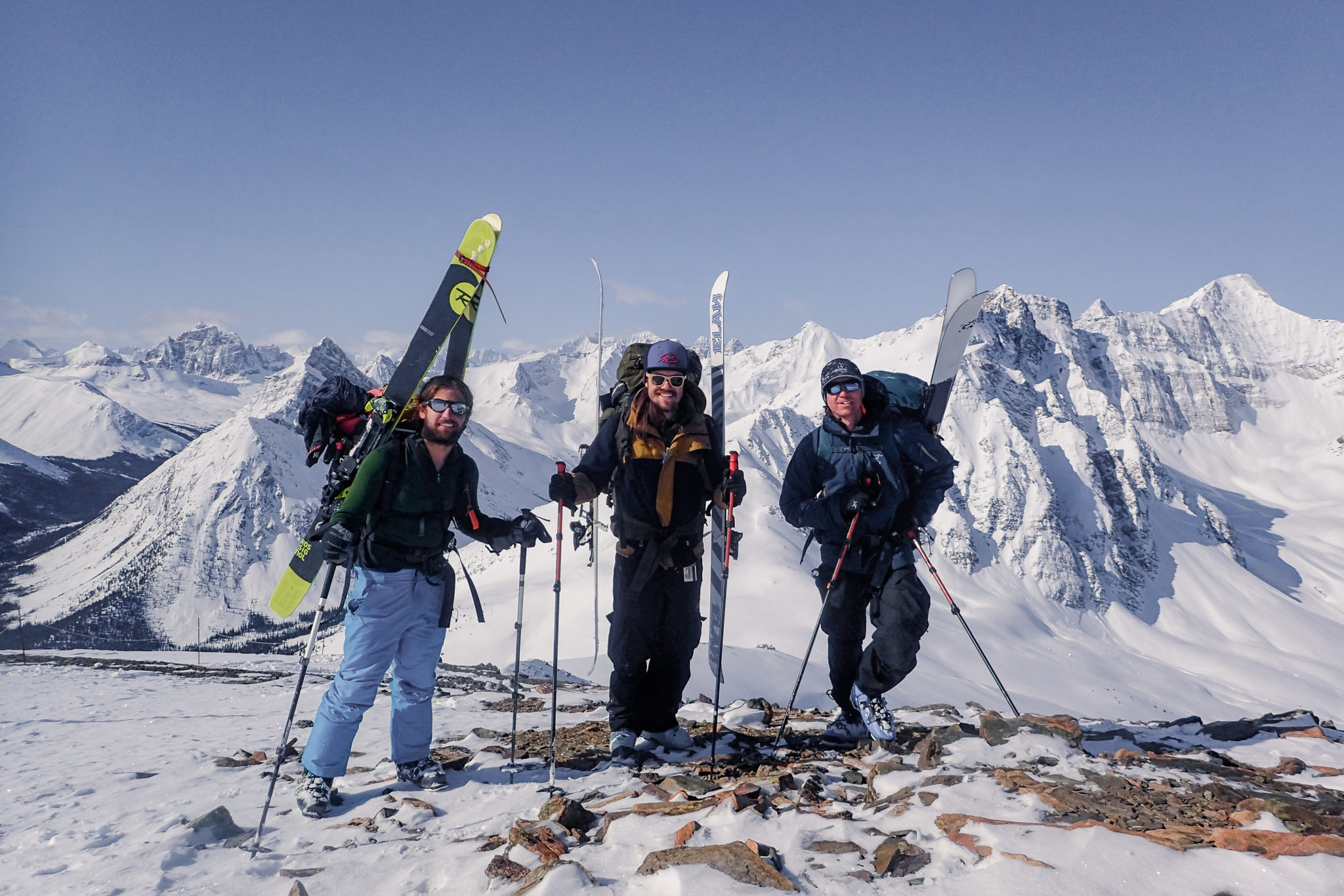 A Three-Day Skitour Into The Tonquin Valley