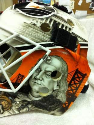 Bryzgalov Flyers Mask by Drummond 6