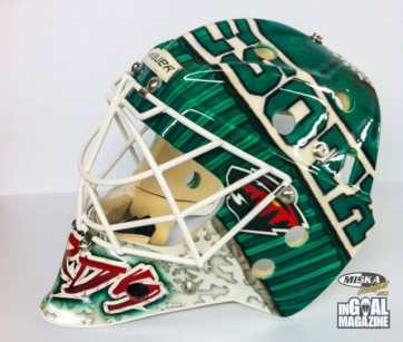 Josh Harding Toque Mask Minnesota Goalie-2