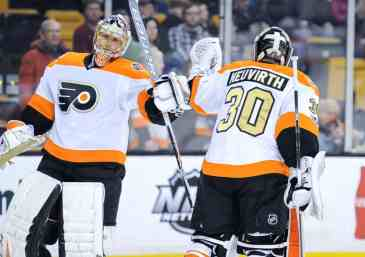 Steve Mason and Michal Neuvirth