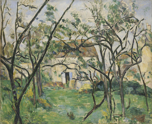 Court to Café: Paul Cézanne, House in the Country, about 1877-79.