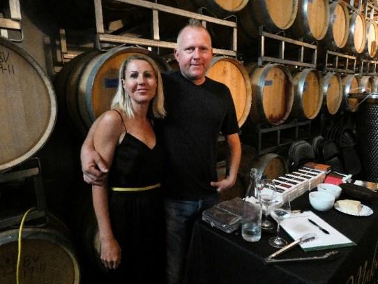 Jen and Michael Caines, owners of Moksha Chocolate