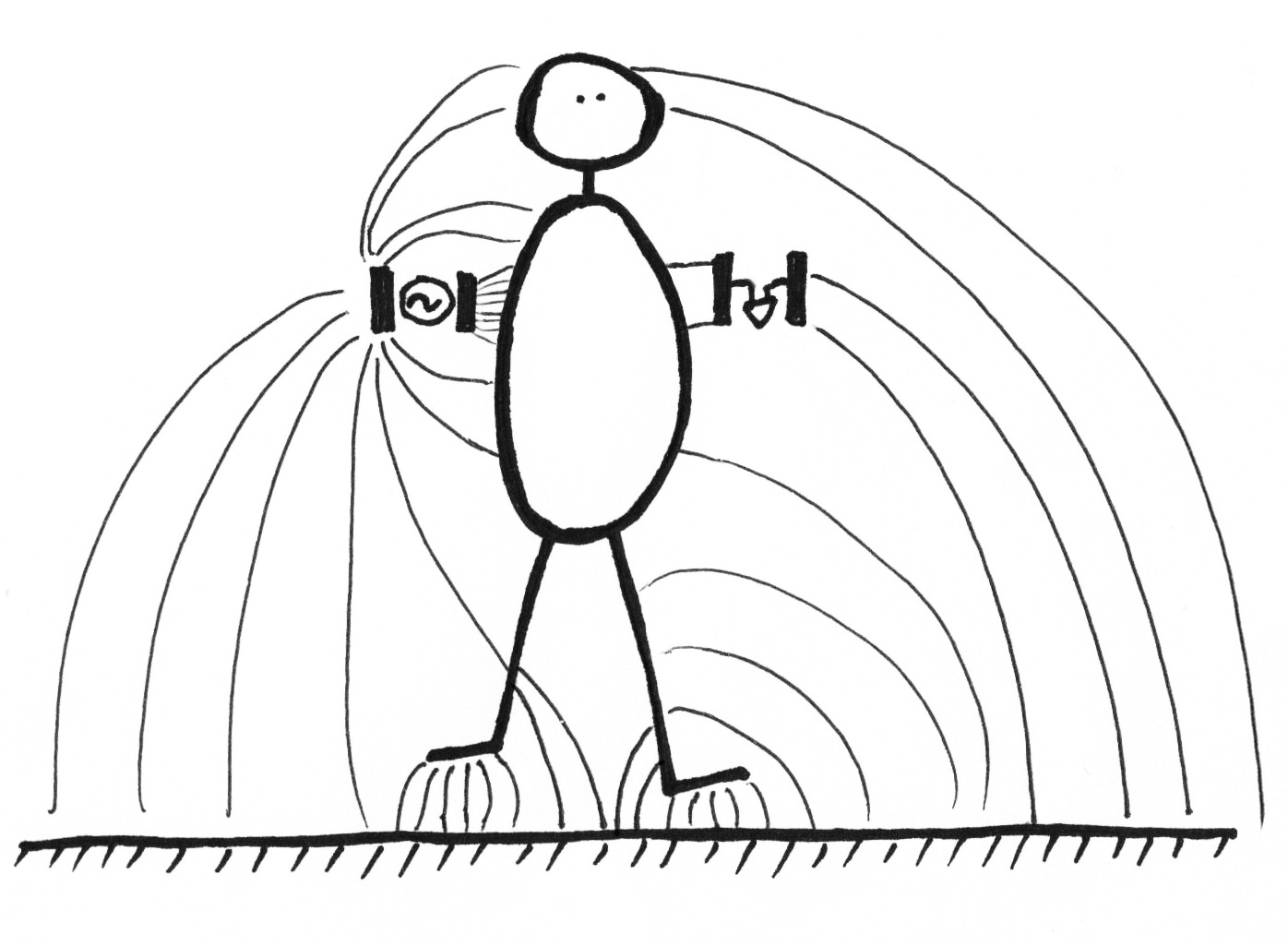 A Diagram Of Electric Field Capacitor