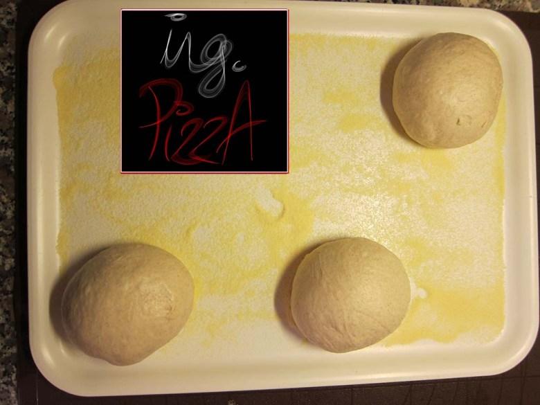 Panetti della pizza formati