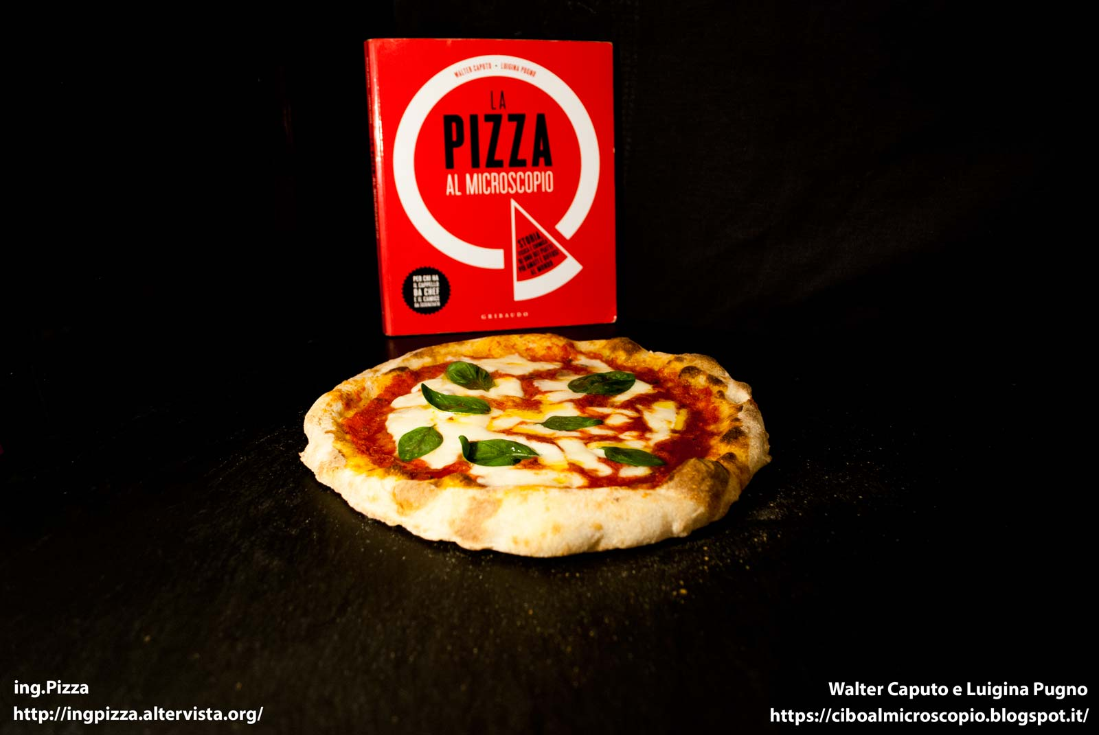 PIZZA TONDA CON IMPASTO A MANO