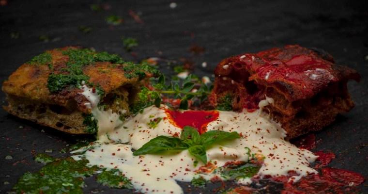 FINGER FOOD DI PIZZA MARGHERITA