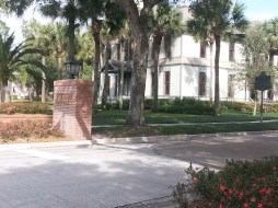 Walking at Stetson
