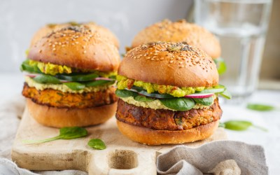 Burger vegan