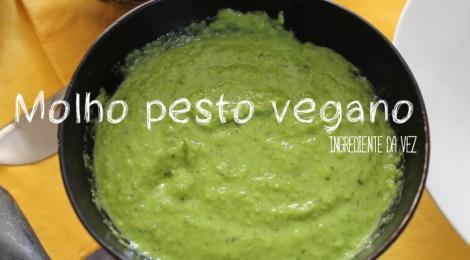 Molho 'pesto' vegano