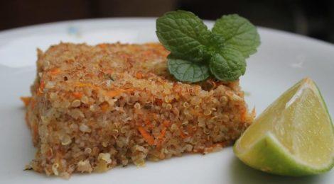 Quibe de Quinoa Recheado com Molico