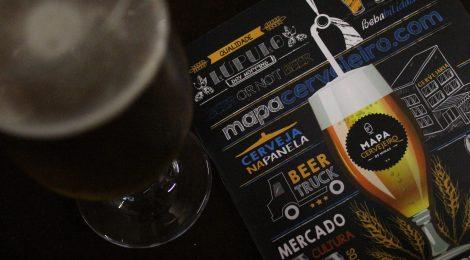 Mapa Cervejeiro recebe sua segunda edição