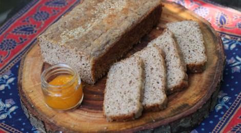 Pão Low Carb de ervas
