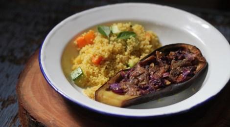 Berinjela assada | Receita Vegana