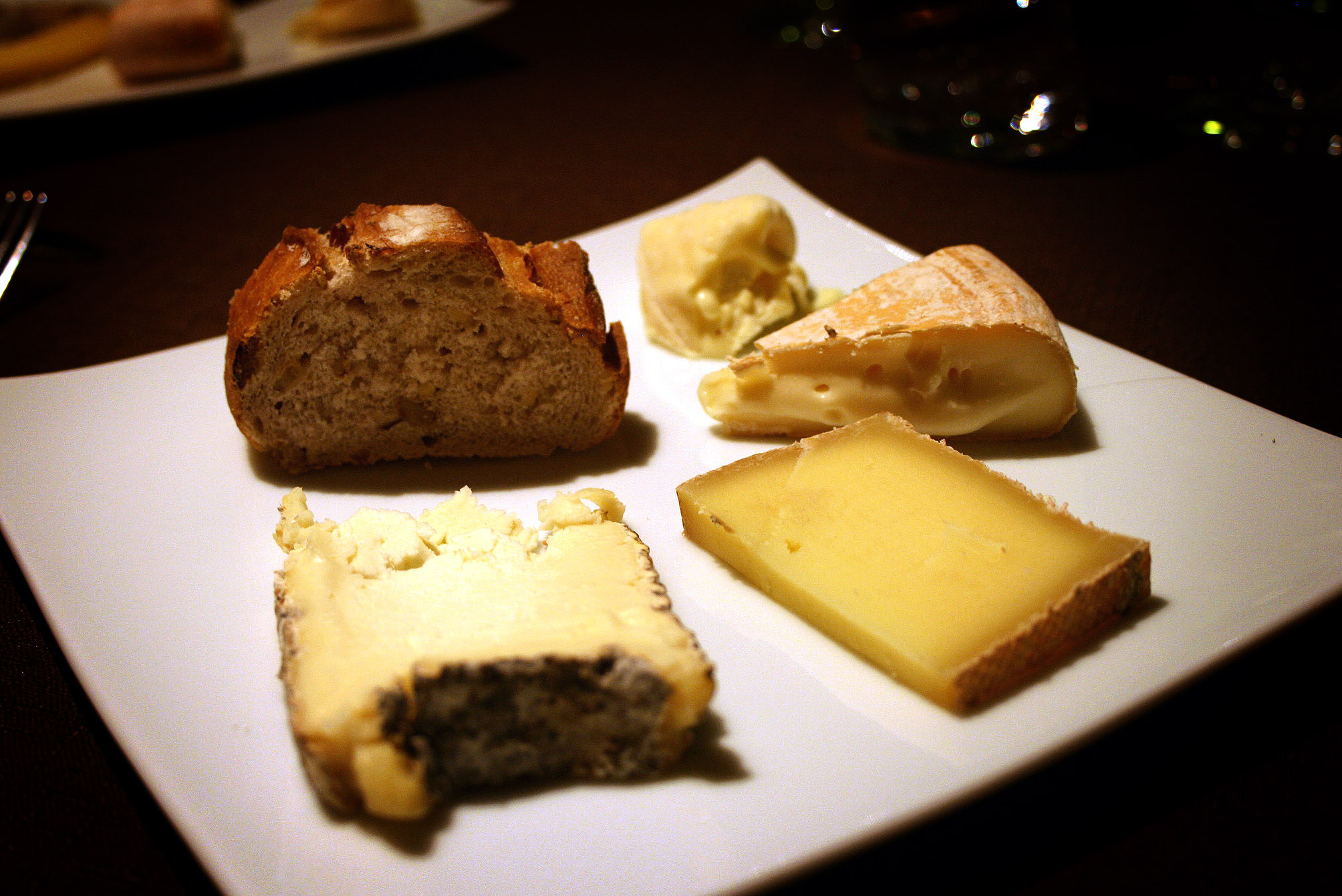 My selection of cheeses