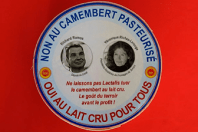 France, Protests about Camembert PDO status