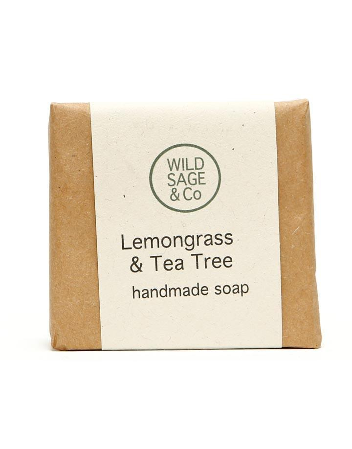 Wild Sage & Co Lemongrass & Tea Tree Soap