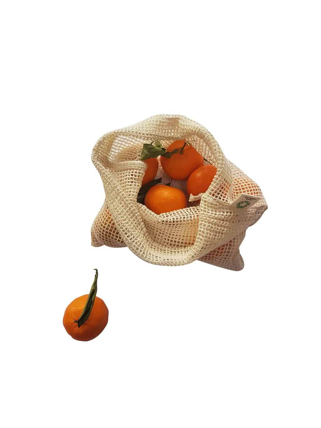 Reusable Product Bags Oranges