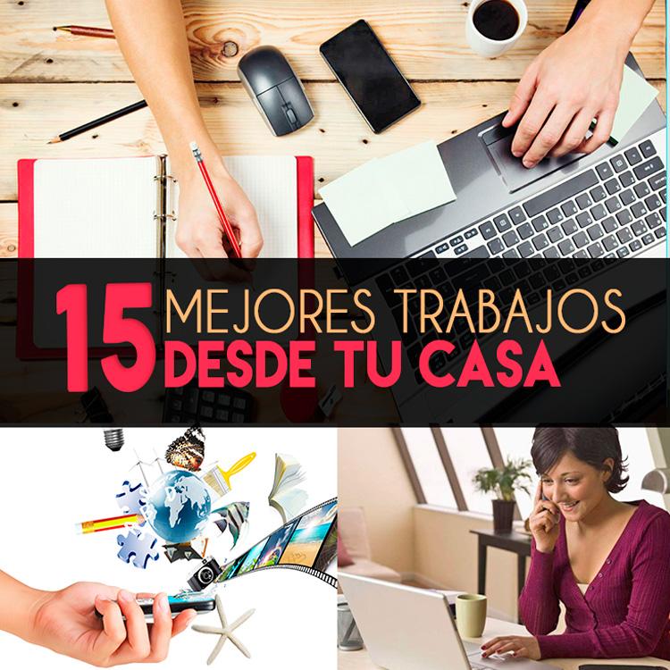 15 mejores trabajos desde tu casa buenas ideas para for Trabajos artesanales desde casa