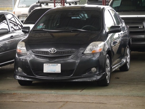 Toyota yaris 2007 NIcaragua (13)