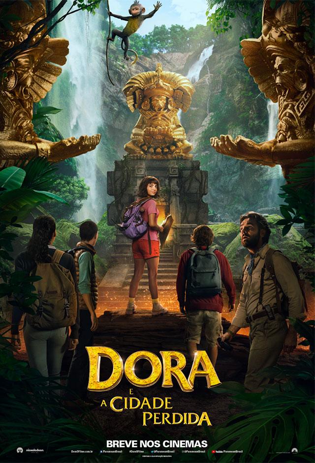 Dora E A Cidade Perdida : cidade, perdida, Cidade, Perdida, 2019:, Filme,, Trailer,, Fotos,, Horários, Salas, Cinema.