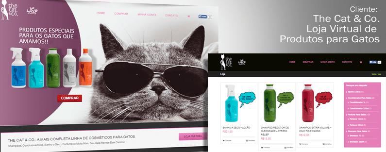 E-Commerce The Cat & Co