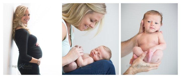 Belly-to-Baby Beckett | Jersey City NJ Newborn Photographer