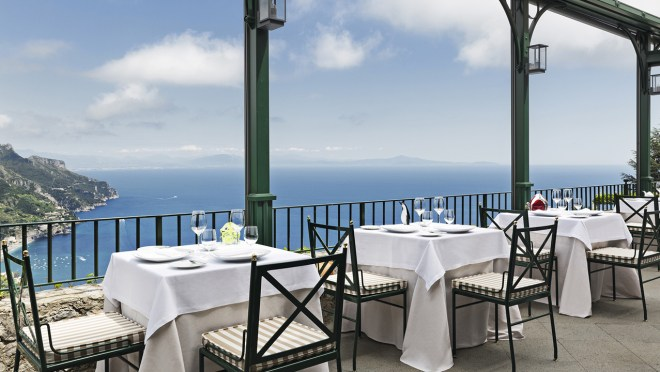 Rossellini's Restaurant, Ravello, Italy