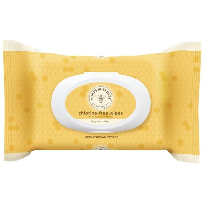 Baby Bee Chlorine-Free baby wipes