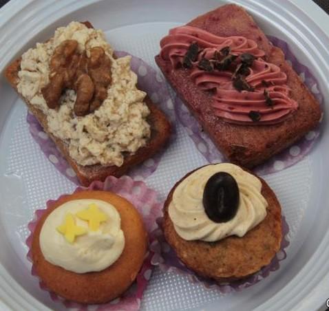 Verschillende smaken cupcakjes