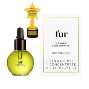 We love this all natural ingrown hair serum