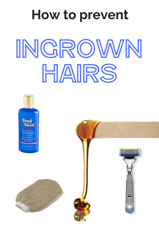 What can you do to prevent ingrown hairs? #ingrownhairs #skincare